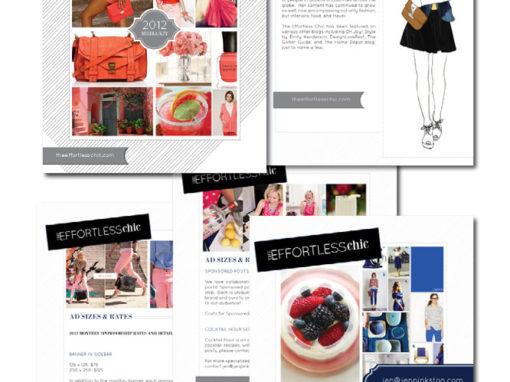 Kit media interactif pour Jen Pinkston