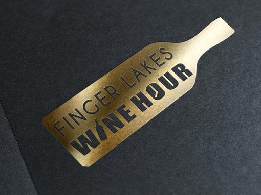 Identité visuelle et Logo Wine Hour