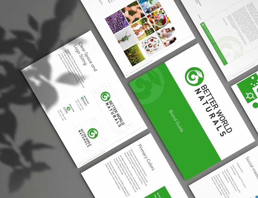 Design du guide identité visuelle