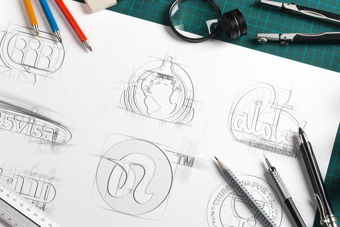 Création logo graphiste freelance larmor-plage et lorient