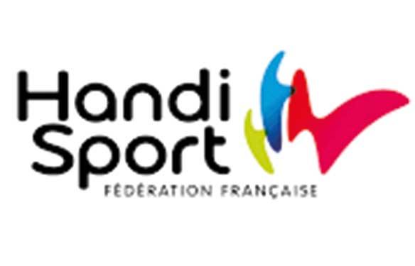 Logo handisport graphiste freelance print et web lorient
